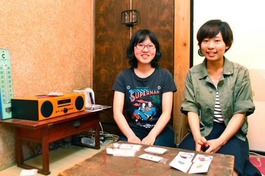 左が小松さん、右が大竹さん