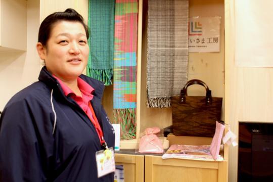 震災の10日前に社会福祉協議会の職員となったばかりだった遠藤さん。