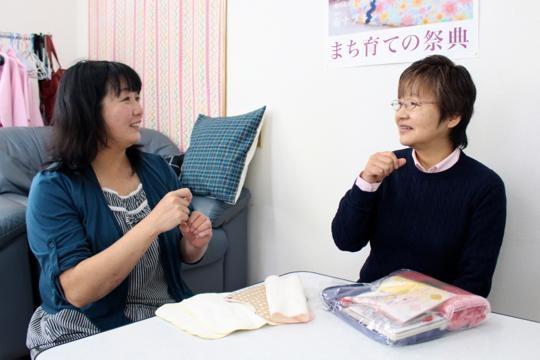 右が細川さん、左が原田さん